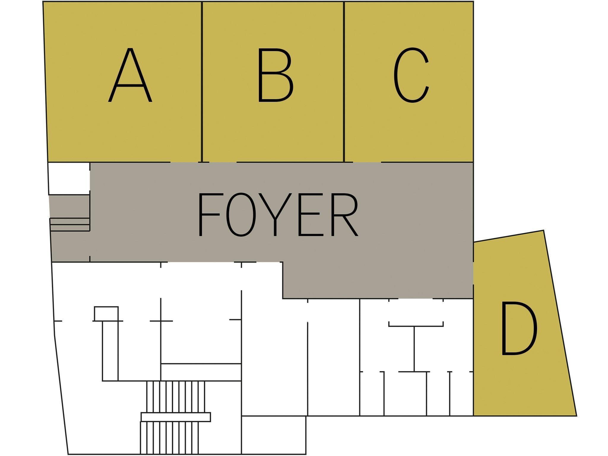 Conference hotel Hamburg: floor plan Level 3