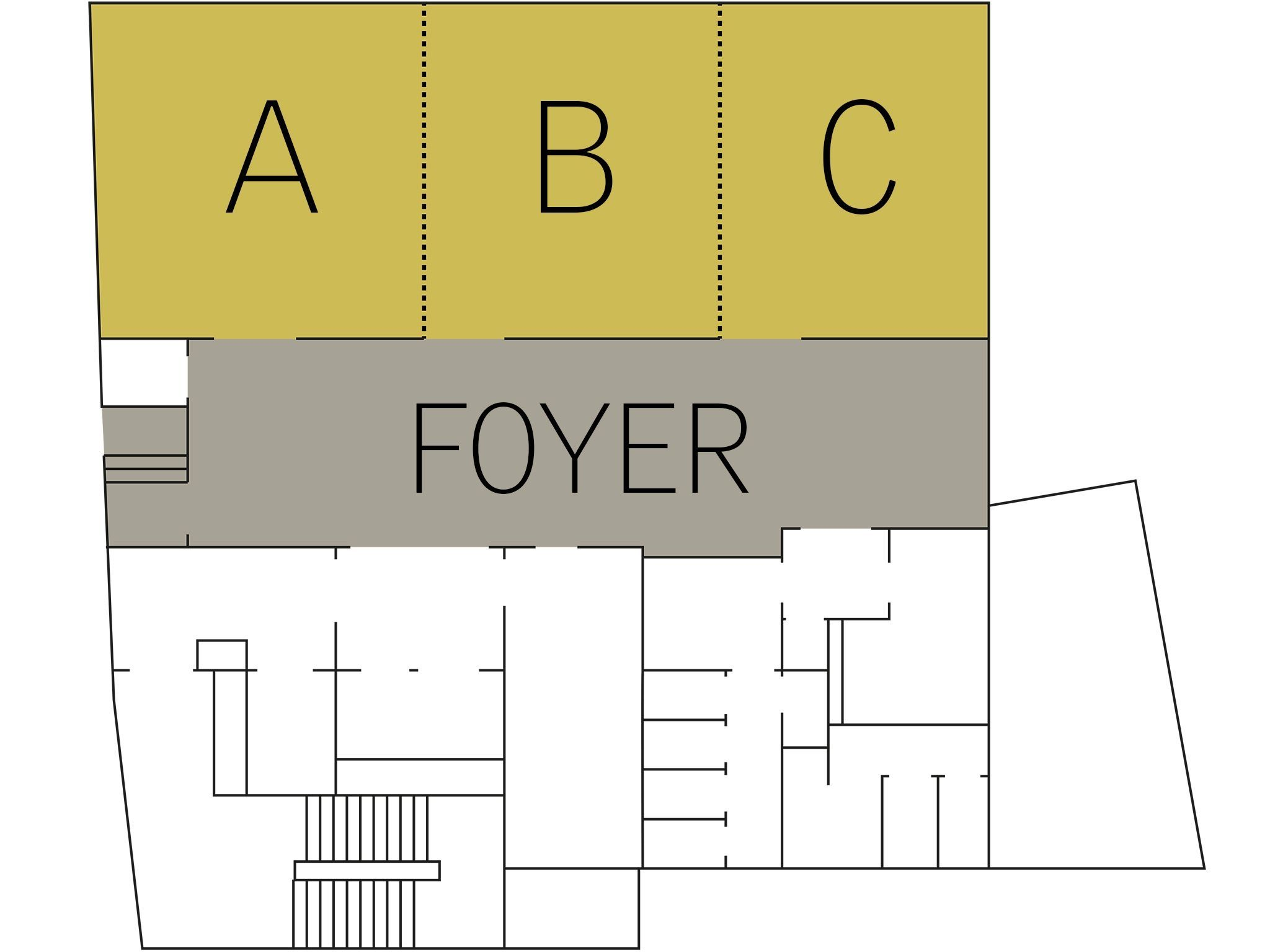 Conference hotel Hamburg: floorplan meeting Level 5