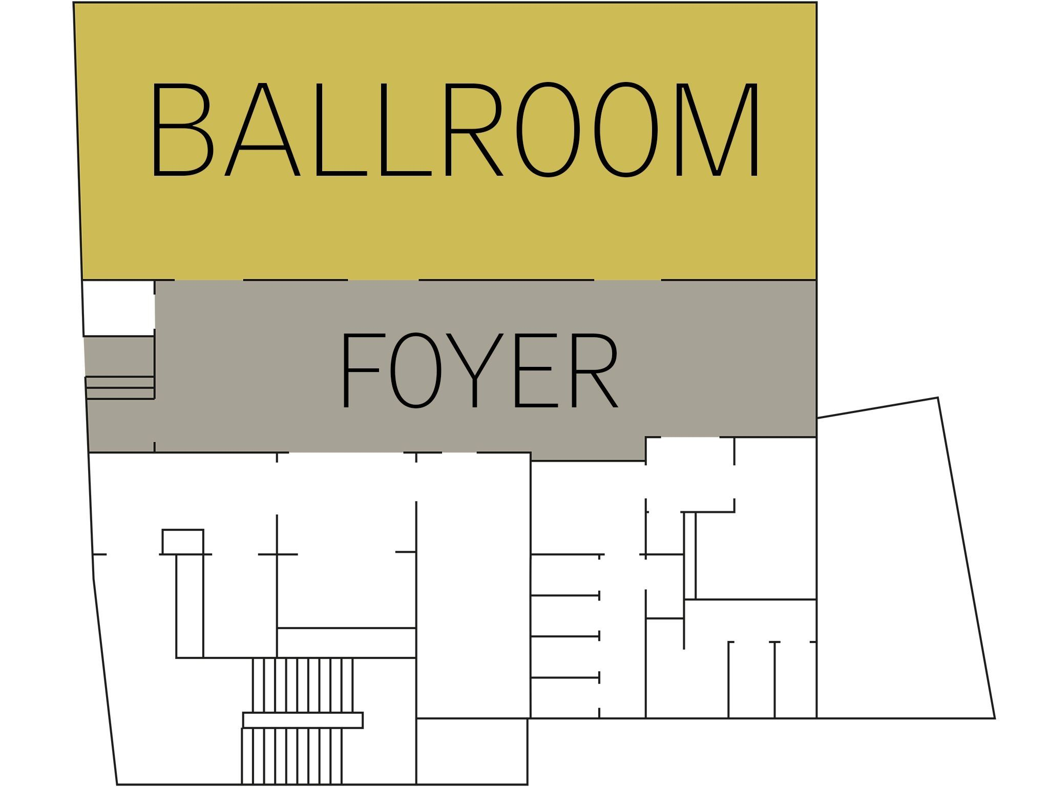 Conference hotel Hamburg: floor plan ballroom Level 6